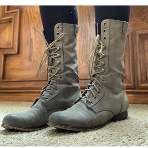 Madden Girl Grey Boots